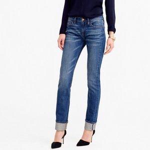 J Crew Selvedge Matchstick Straight Leg Jeans 25